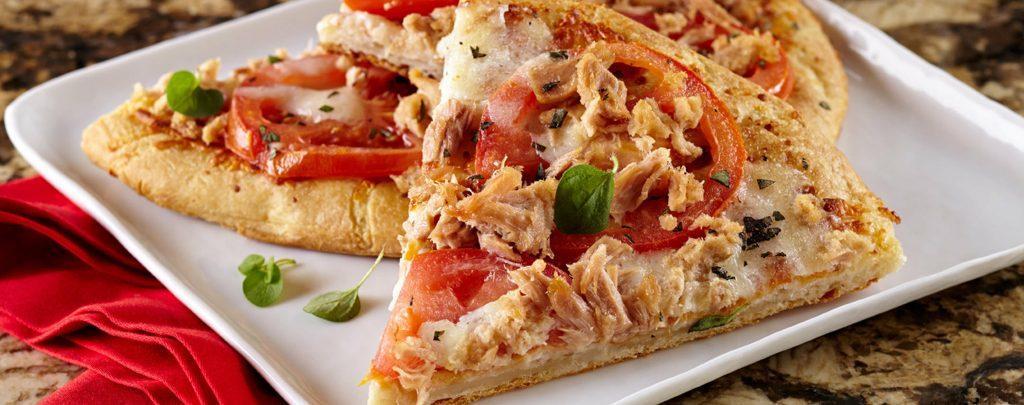 Pizza con atún, Alemania es uno de los países que prepara esta pizza y es la favorita