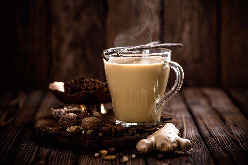 Taza de té chai